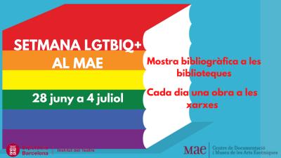 Cartell de la Setmana LGTBIQ+ al MAE 2021